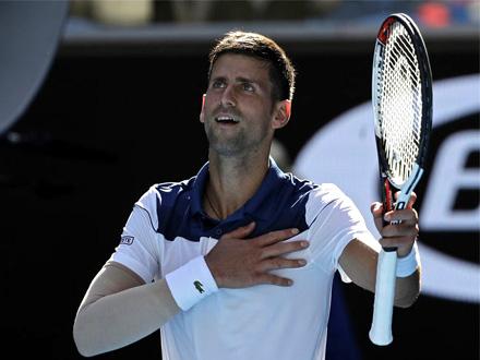 Novak ide na pobedu FOTO: AP