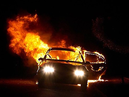 """Došlo do požara na """"audiju A6"""" FOTO: Free Images"""