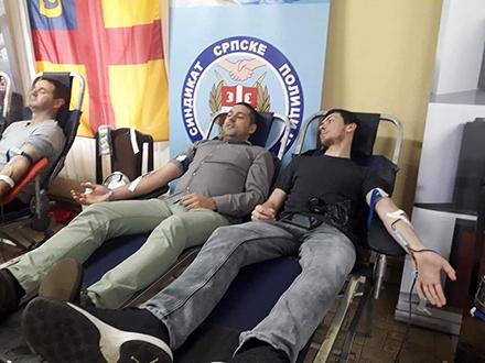 Akcija davanja krvi. Foto: FB