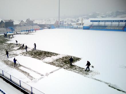 Situacija nije ništa bolja nego juče FOTO: FK Radnik