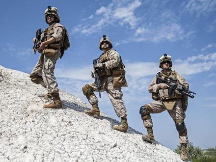 Trupe SAD bile su mahom stacionirane u regionu severne Sirije FOTO: Profimedia