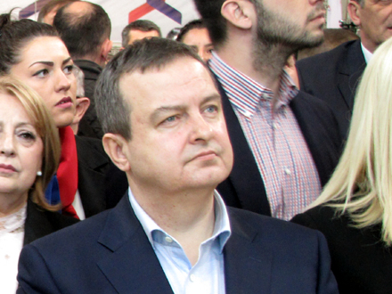 Ministar spoljnih poslova Ivica Dačić FOTO: D. Ristić/OK Radio