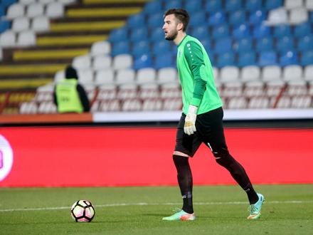Nikola Vasiljević uskoro treći golman Zvezde? FOTO: FK Radnik