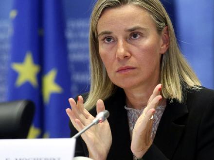 Ekipu će dočekati visoka predstavnica EU Federika Mogerini FOTO: EPA