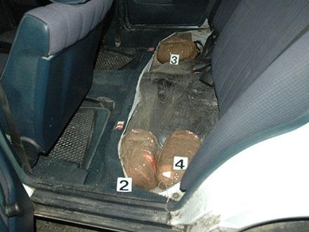 Drogu prevozio Mercedesom. Ilustracija, Foto: MUP