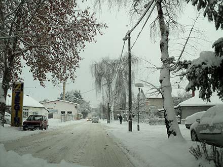 Lungina ulica u Vranju. Foto: S.Tasić/OK Radio