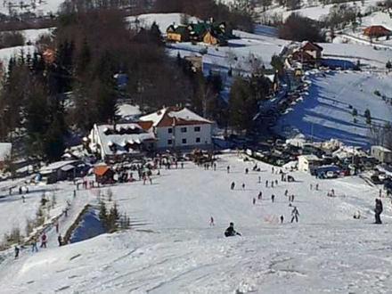 Besna Kobila čeka na skijaše FOTO: TO Vranje
