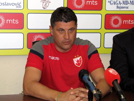 Milojević okupio je igrače na prvom treningu u 2019. FOTO. D. Ristić/OK Radio