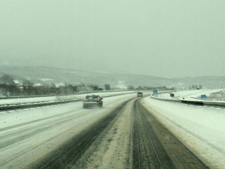 Novog snega nema, ali pazite na led FOTO: S. Tasić/OK Radio