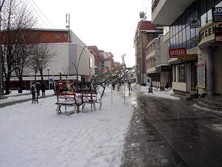 Vranje najhladniji grad u Srbiji. Foto: S.Tasić/OK Radio