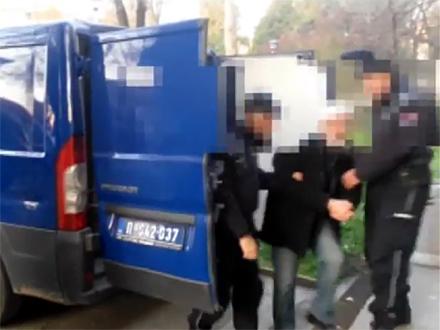 Hapšenja nakon višemesečnog praćenja FOTO: RTS/printscreen