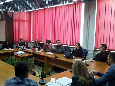 Organizacioni odbor festivala FOTO: vranje.org.rs
