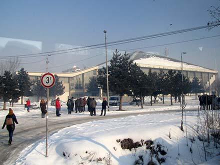 Okupljanje pred polazak. Foto S.Tasić/OK Radio