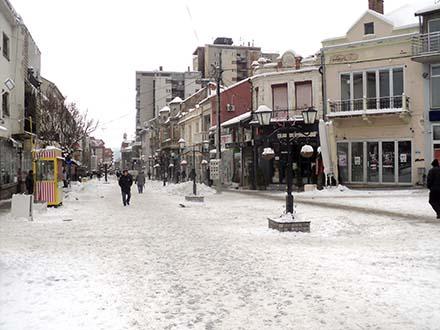 Visina snega je 15 centimetara FOTO: S. Tasić/OK Radio
