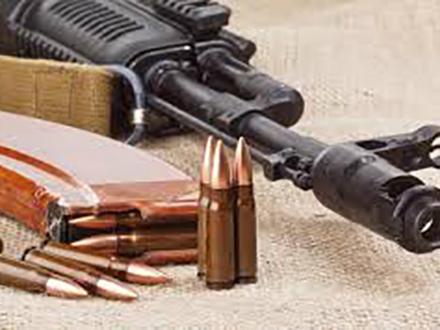 Oružje bilo zakopano u podrumu. Foto: Thinkstock