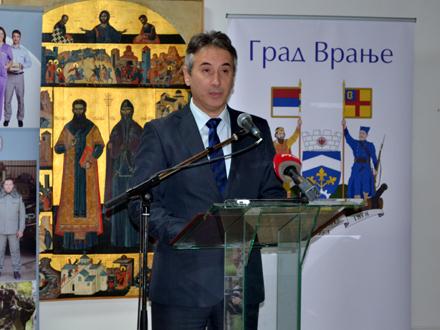 Milenković: Budimo, kao Sava, umereni, nenametljivi i skromni FOTO: G. Mitić/OK Radio