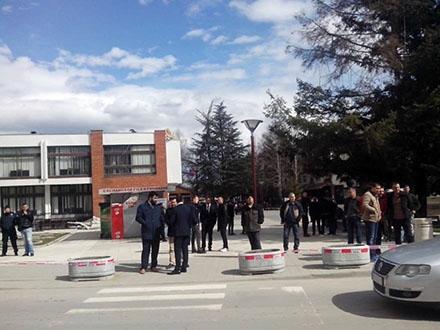 Uhapšen muškarac iz okoline Bujanovca. Foto: S.Tasić/OK Radio