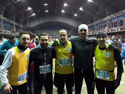 Vranjska ekipa u Beogradu FOTO: AK Vranjski maratonci