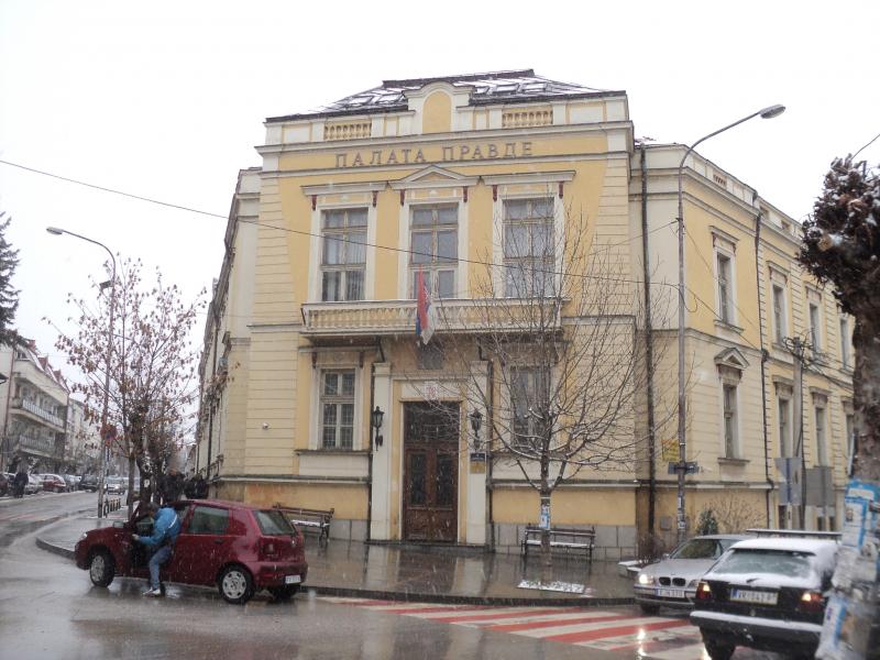 Osnovni sud u Vranju. Foto. S.Tasić/OK Radio