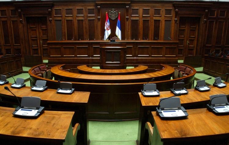 Šefovi opozicionih poslaničkih grupa govoriće u skupštinskom holu FOTO: parlament.org.rs