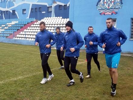 Igrači imaju i ambiciju i želju da uspeju da nešto naprave FOTO: FK Radnik