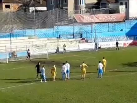 Pobeda iz penala u 38. minutu FOTO: Printscreen