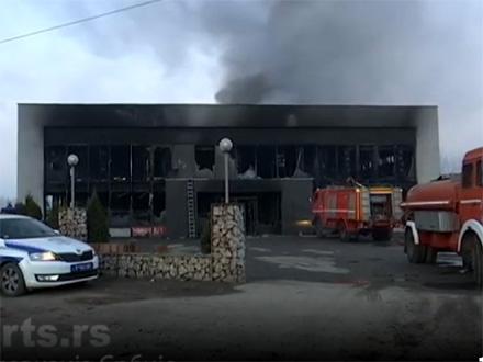 Za sada se ne zna uzrok izbijanja požara FOTO: RTS/printscreen