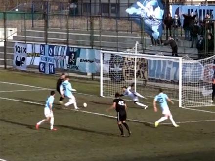 Gol Dimitrova za remi u Beogradu FOTO: YouTube/Super liga Srbije printscreen