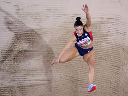 Španovićeva odlična u prvom pokušaju FOTO: Getty Images