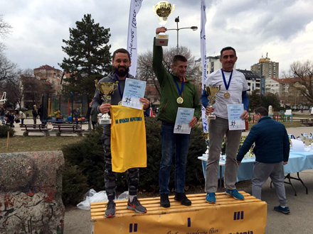 Saša Ćuković vicešampion niškog maratona FOTO: AK Vranjski maratonci
