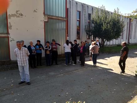 Radnici pogona u selu Klenike u štrajku glađu FOTO: Nezavisnost GMP Bujanovac