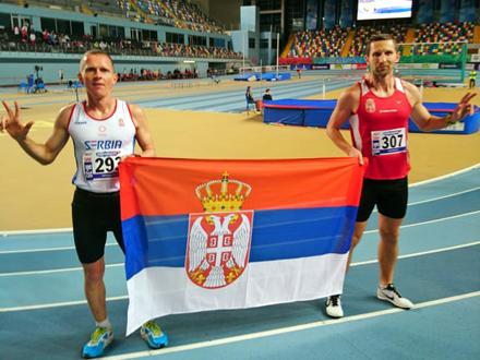 Kristijan branio boje Srbije FOTO: AK Vranjski maratonci