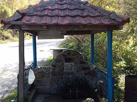 Izvor sa lekovitom vodom u Cerevajki. Foto: S.Tasić/OK Radio