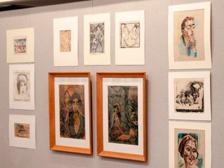 Crteži, bakropisi i litografije FOTO: AP