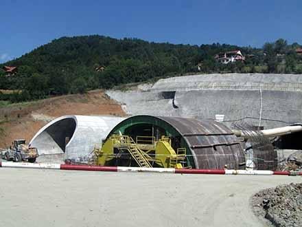 Koridori: Biće najbezbedniji tunel u Srbiji FOTO: S. Tasić/OK Radio (arhiva)