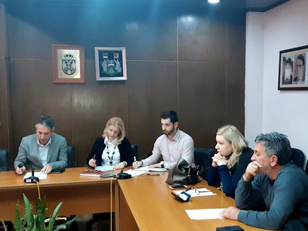Sa sednice Organizacionog odbora FOTO: vranje.org.rs