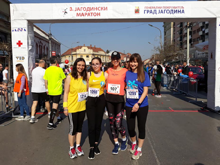 Vranjske maratonke u Kruševcu FOTO: AK Vranjski maratonci