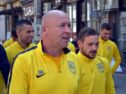 Žuti dres - lepa uspomena FOTO: G. Mitić/OK Radio