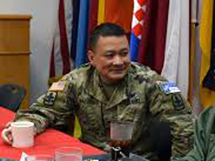Pukovnik Roj Makareg: Prijateljstvo i mir FOTO: 29th Infantry Brigade Combat Team Facebook