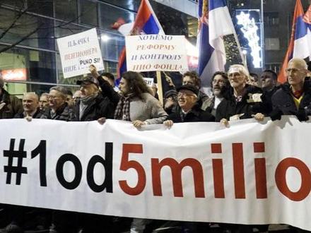 Svi apeluju da protest protekne mirno FOTO: 1 od 5 miliona Facebook