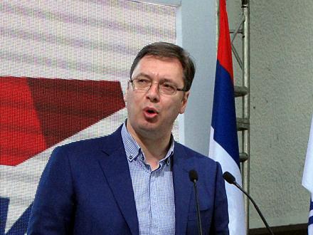 Vučić: Sputnjik laže FOTO: D. Ristić/OK Radio