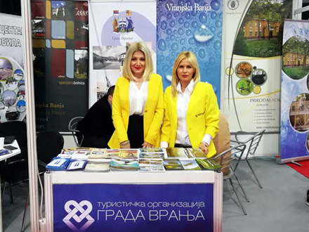 Turistički potencijali Vranja pred posetiocima sajma u Nišu FOTO: TO Vranje
