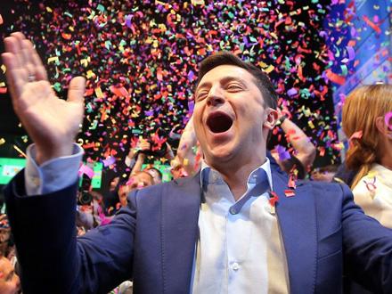 Ukrajinski komičar Volodimir Zelenski FOTO: Reuters
