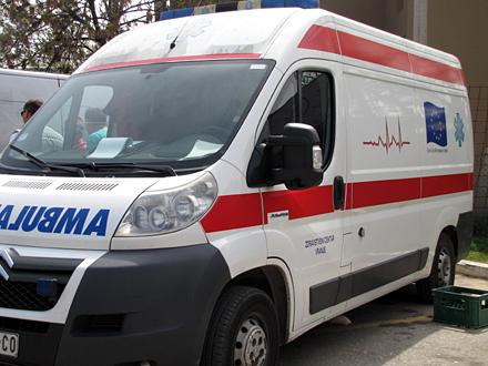Sa teškim povredama prevezen u bolnicu FOTO: OK Radio