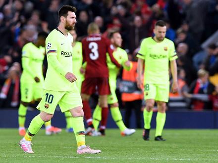 Poraz Barselone znači da prvi put od 2013. godine u finalu Lige šampiona neće biti nijedan španski klub FOTO: Neil Hall