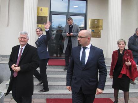 Lideri Albanaca sa juga Srbije. Foto: S.Tasić/OK Radio