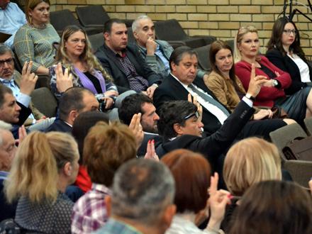 Odbornici izglasali smenu.  Foto: G.Mitić/OK Radio