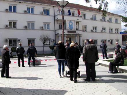 Osumnjičenima određeno zadržavanje do 48 sati. Foto: S.Tasić/OK Radio