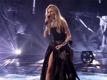 Nevena fokusirana na finale FOTO: YouTube/screenshot