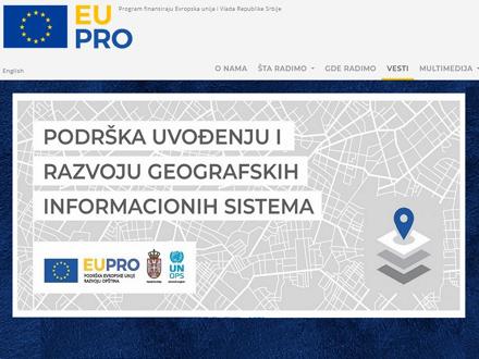 Prostorni podaci na jednom mestu FOTO: EU PRO